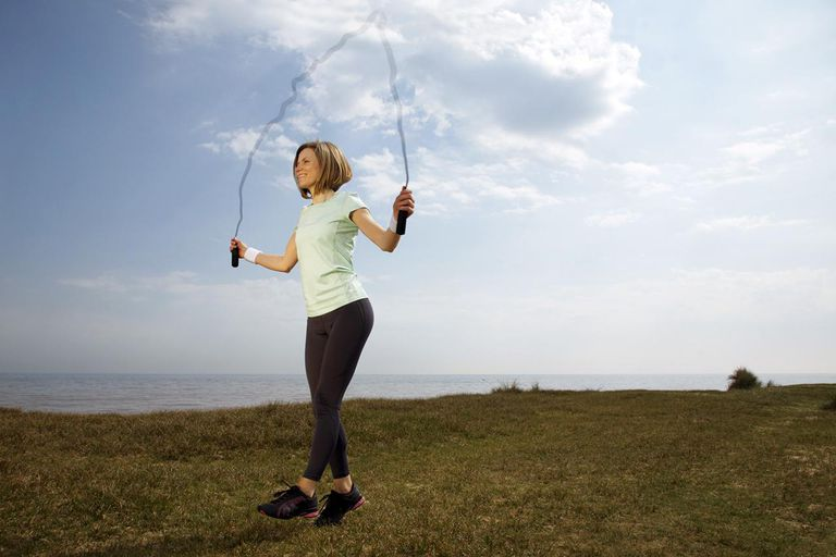 jump rope plyo exercise